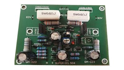 fungsi trimpot pada super ocl 500 watt