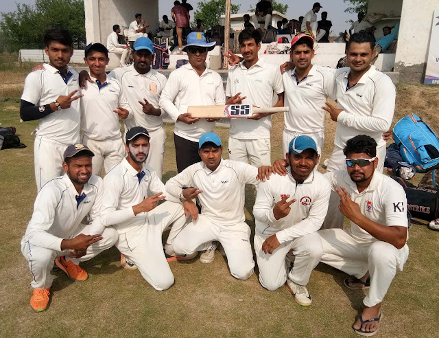 Ravinder Fagna defeated Cricket Academy, reached the Van Xi Team final