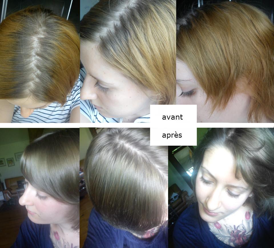 Retrouver couleur naturelle cheveux blancs