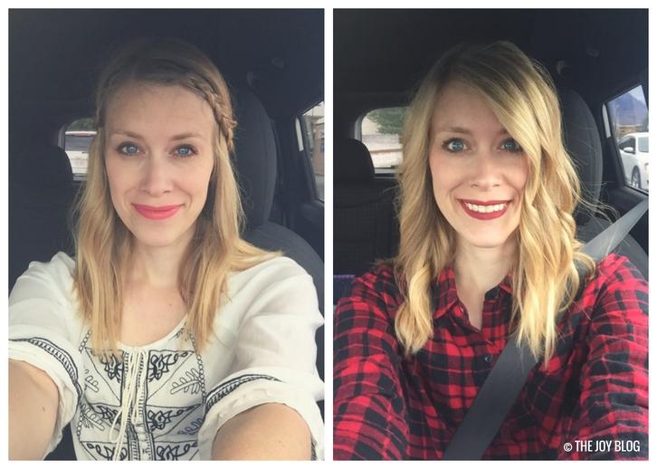 Wearing Rosebud & Cinnamon Spice Wet N' Wild Lipsticks // WWW.THEJOYBLOG.NET