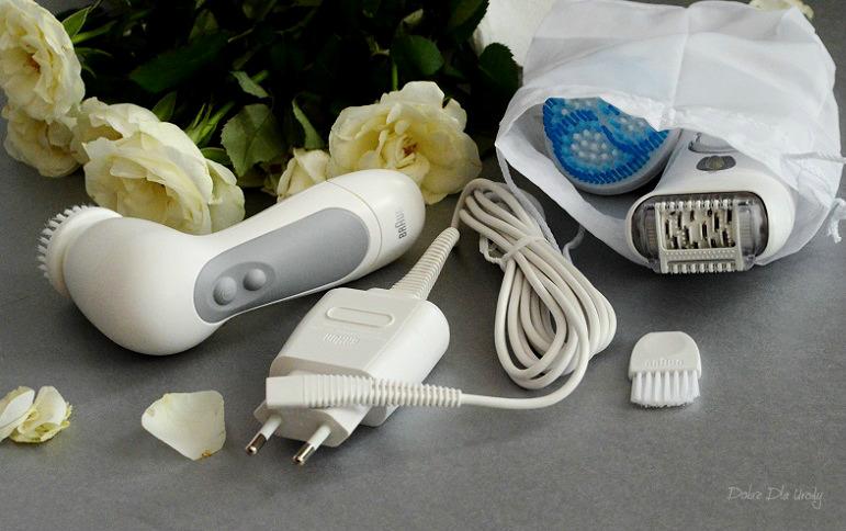 Braun Silk-épil 7 SkinSpa Wet&Dry - system depilacji i peelingu 2 w 1  recenzja