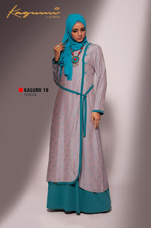 KAGUMI 19 TOSCA Inner Crepe Safina, Outer Jacquard S,M,L - 369.500 XL - 379.500