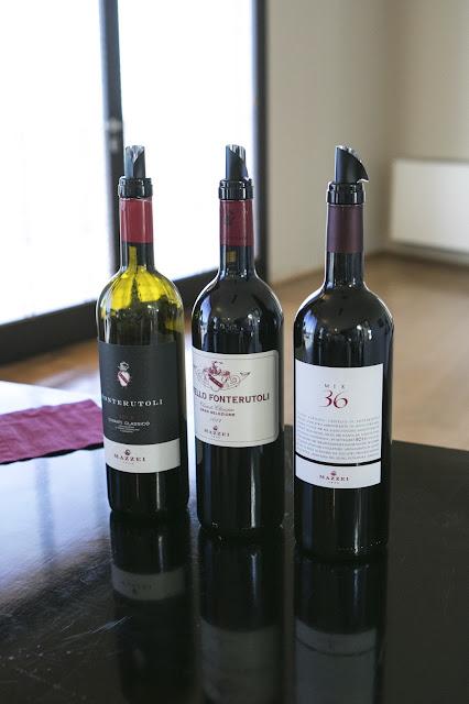 Cantine Marchesi Mazzei-Degustazione dei vini