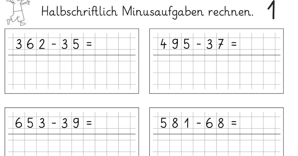lernst252bchen halbschriftlich subtrahieren