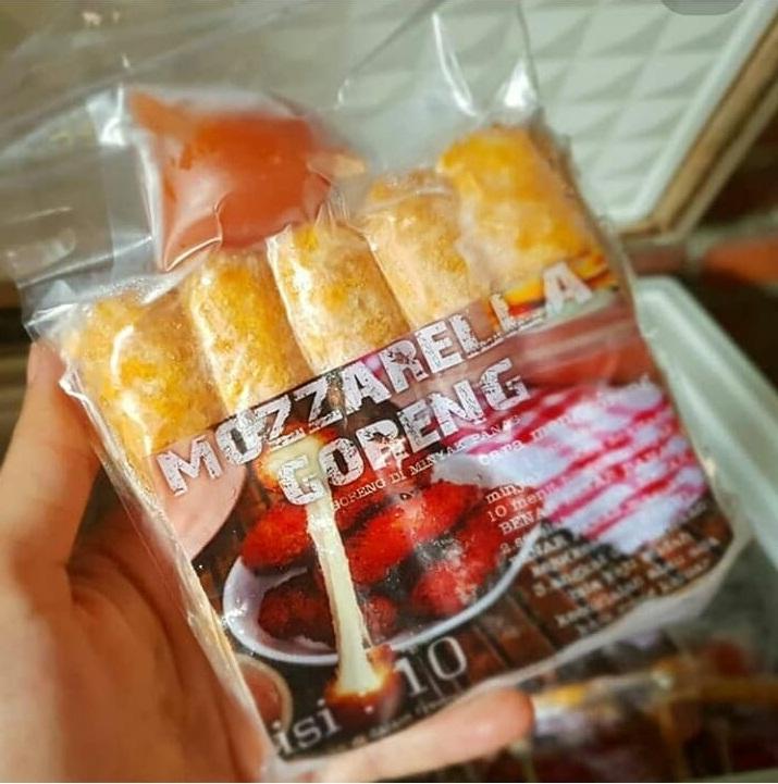 Riajulia Blog Mozarella Corndog And Stik Mozarella Makanan