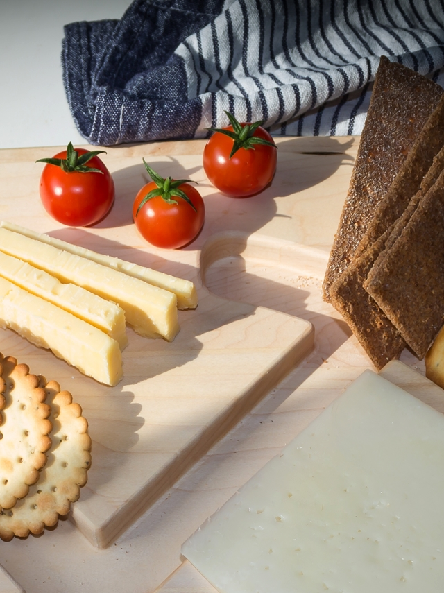 cheese and red tomatoes