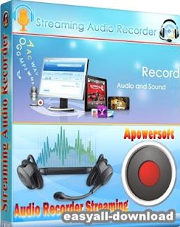 Apowersoft Streaming Audio Recorder 4.1.6 [Full Key] โปรแกรมใช้ในการอัดเสียง บันทึกเสียง