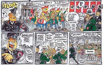cómic , Berlín , fachas, nazis, alemanes