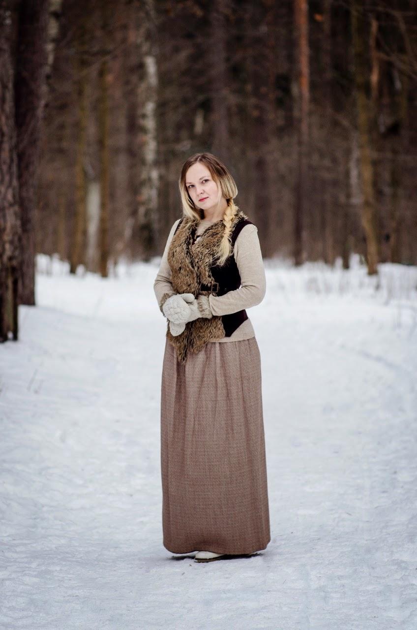 Зимняя фотосессия. Марина