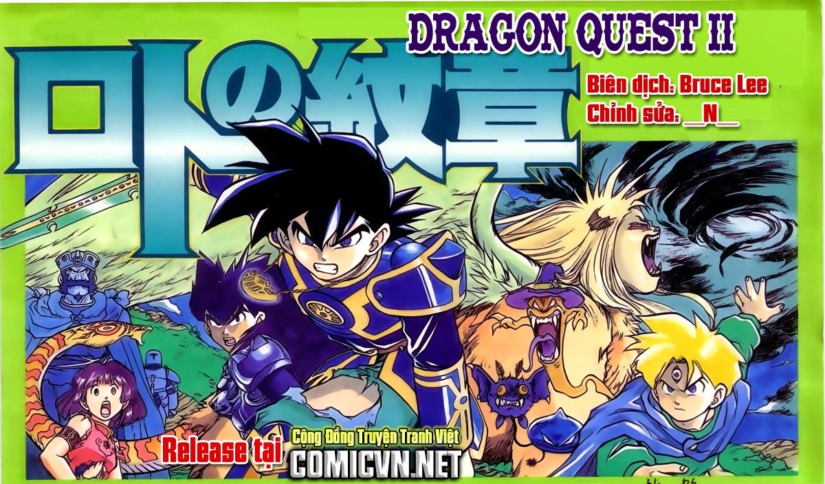 Dragon Quest: Emblem of Roto chap 35 trang 1