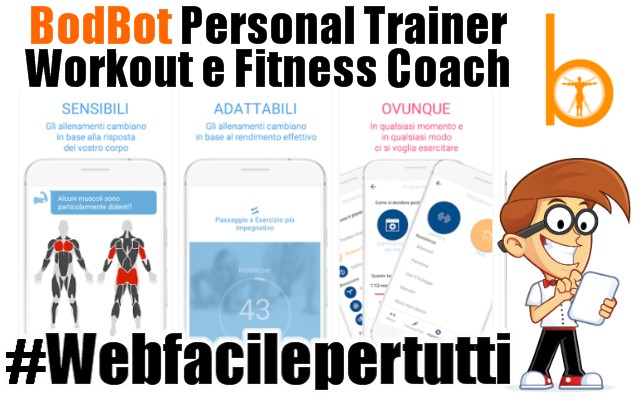 BodBot | Il Tuo Personal Trainer Digitale Per iPhone e Android