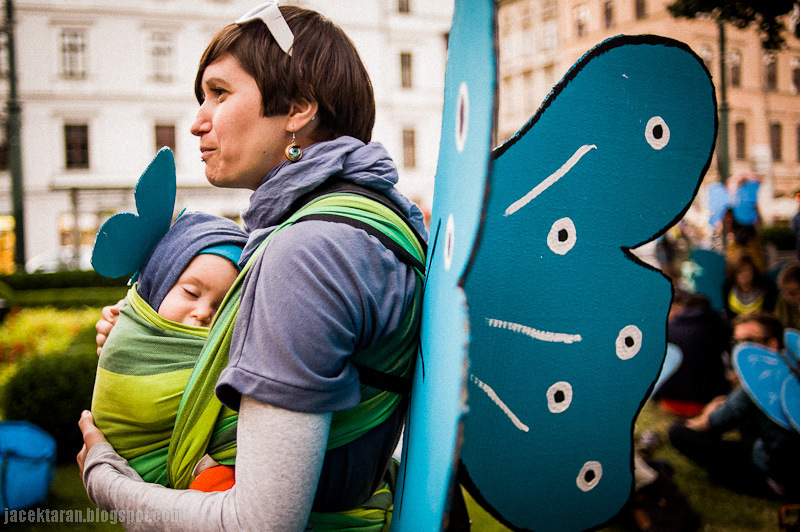 ratujmy zakrzowek, modraszki, cecylia malik, demonstracja, protest, krakow, magistrat
