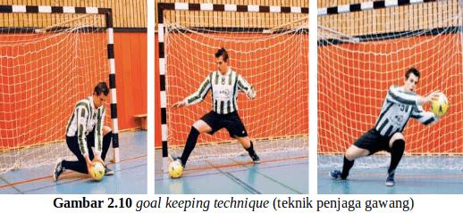 Teknik Penjaga Gawang Futsal (Goal Keeper Technique)