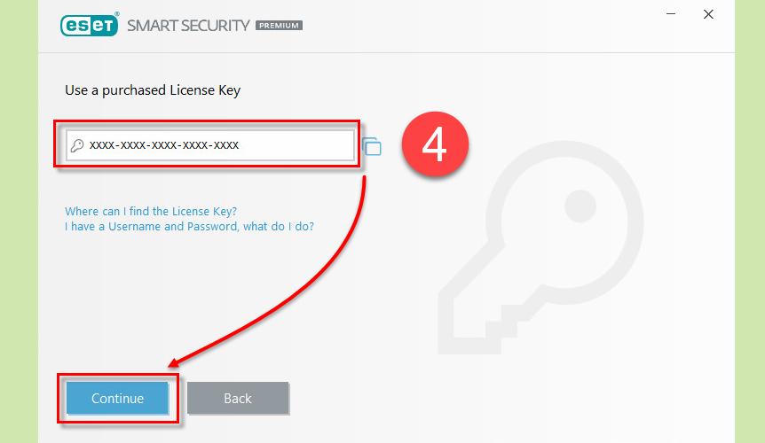 nod32 key