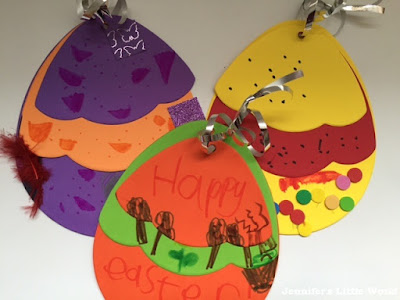 Easter crafts for children with Springboard Supplies