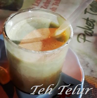 Minuman Khas Riau Pelepas Dahaga teh telur panas dingin ajo harapan raya
