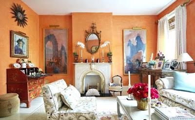 warna cat dinding ruang tamu yang cantik terbaru