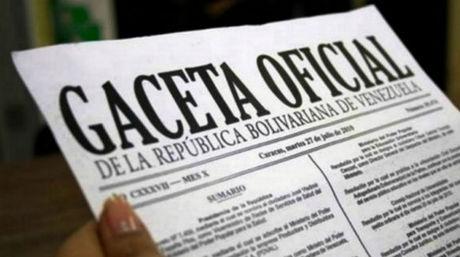 Vea los últimos decretos presidencial publicados en Gaceta oficial Nº  41118