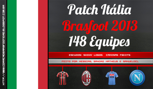 patch italiano brasfoot 2013