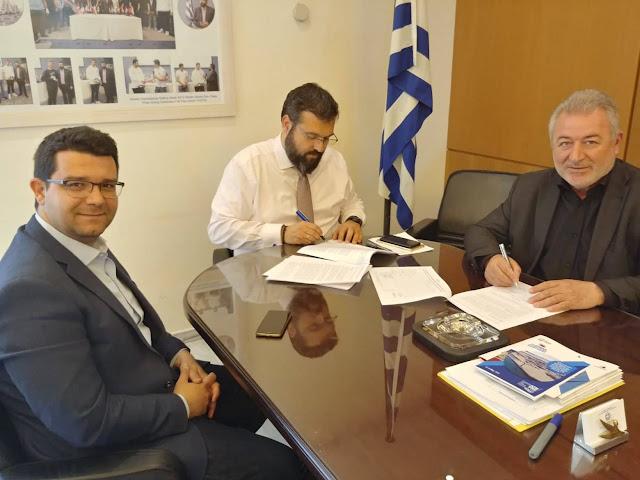 Υπογράφηκε ο ηλεκτροφωτισμός του Δημοτικού Σταδίου Ηγουμενίτσας