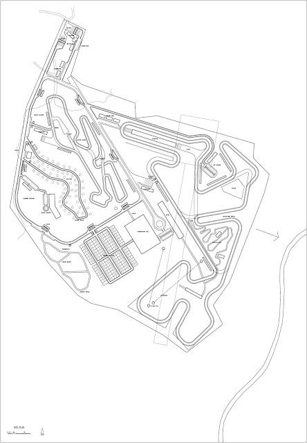 Site Plan Balap Motor