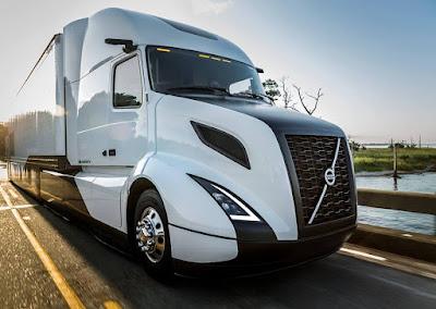 Caminhões elétricos Volvo farão parte de projeto inovador