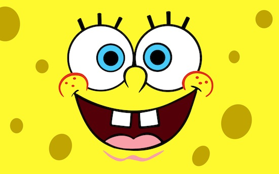 10-Best-SpongeBob-smiling-face-New-iPad-retina-HD-wallpapers