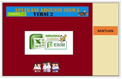 Download Aplikasi Absensi Siswa Plus Grafik Siswa Dengan Excel