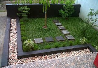 Dekorasi Taman Minimalis