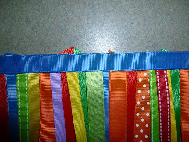 Fountains High Chair Ribbon Banner