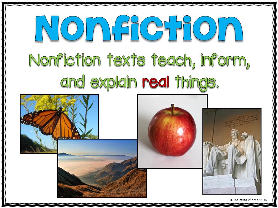 Mrs Winters Bliss Fiction VS Nonfiction Teaching Ideas – Fiction and Nonfiction Worksheets