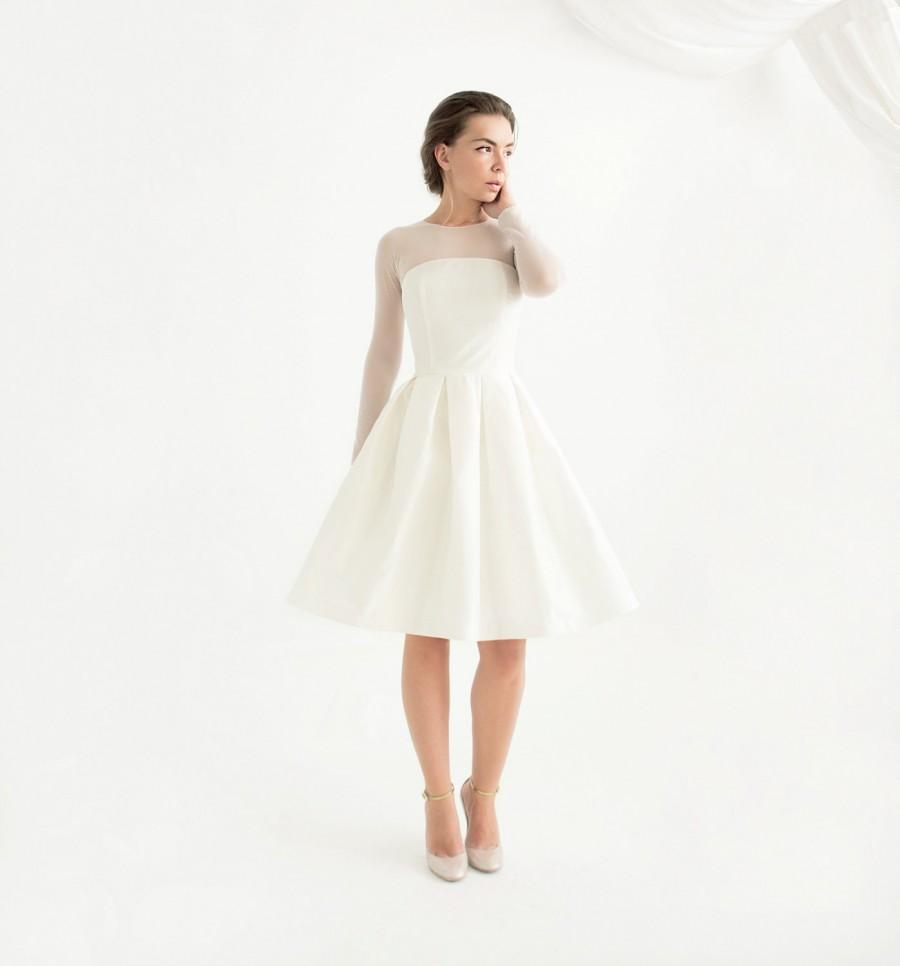 Vestido de novia civil bellos dise os con foto somos for Civil wedding dress philippines