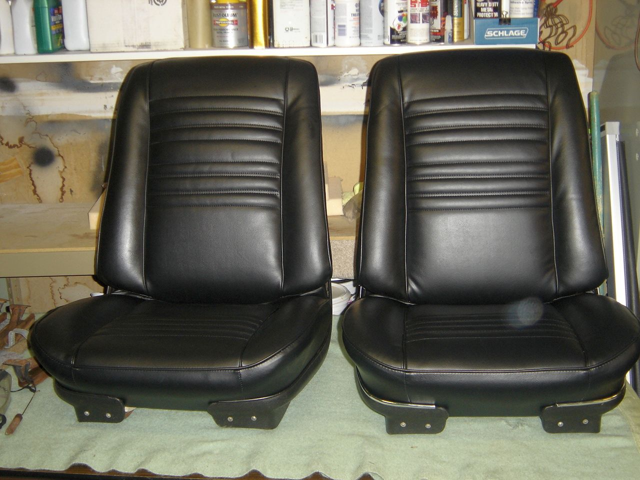 1967 Chevelle Bucket Seat & Rear seat Restoration | Classic Seat