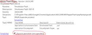 Cómo activar Flash player en Google Chrome