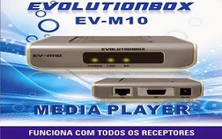 NOVA ATUALIZAÇÃO + LOADER DONGLE EVOLUTIONBOX EV-M10 - 13/11/2-14