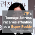 JYP's teenage actress receives attention as a super rookie