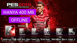 Game PES 2019 PPSSPP Ukuran Kecil (400 MB) Offline di Android
