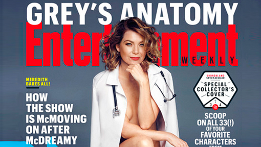 Portada Ellen Pompeo Entertainment Weekly