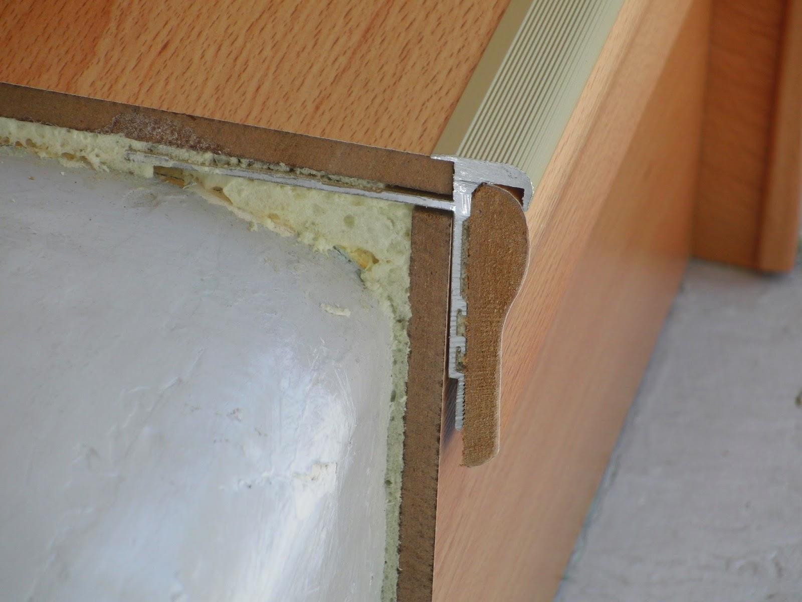 Treppenrenovierung - HK-Profil Standart-Sicherheitssystem