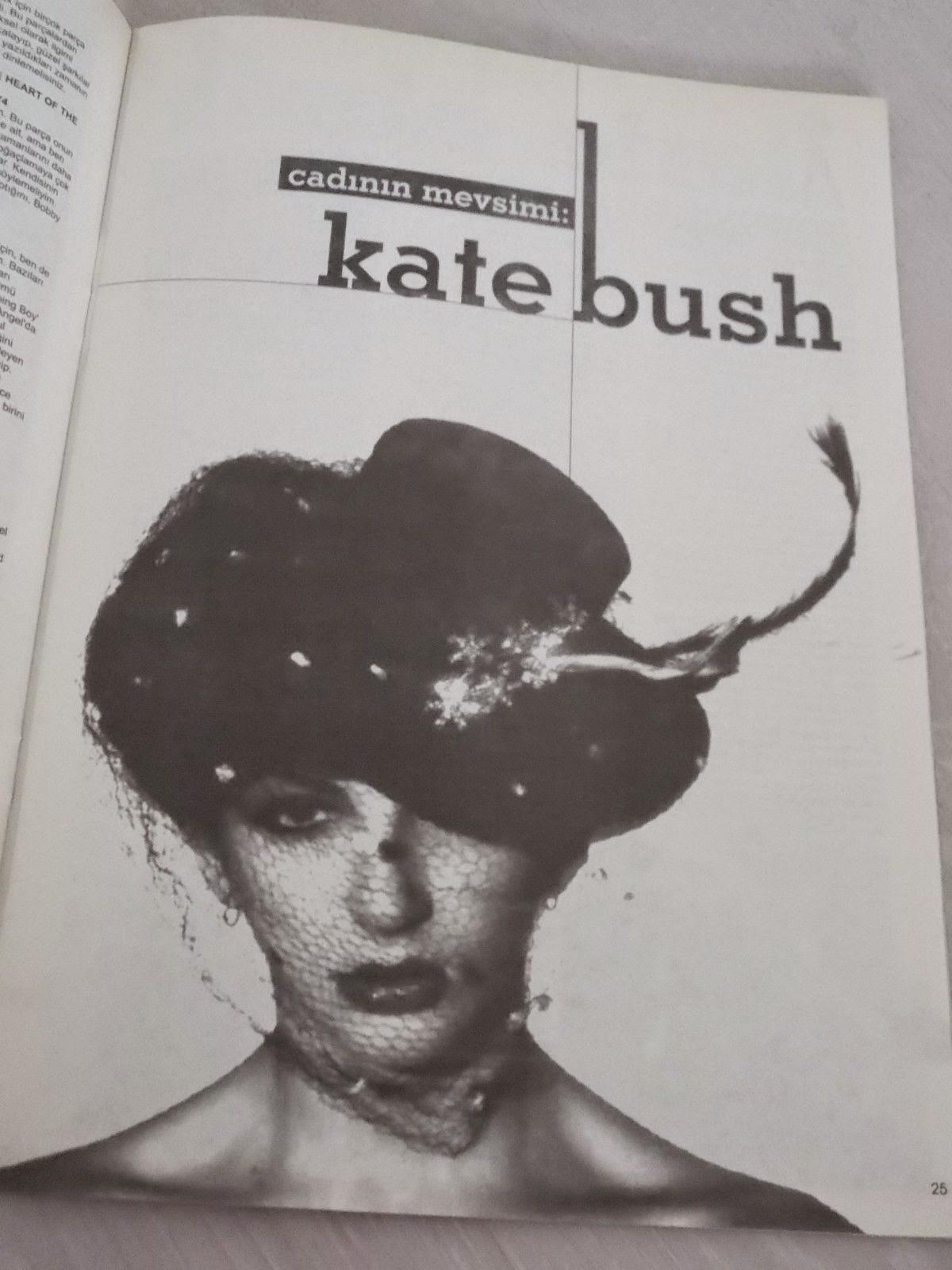 Kate Bush Clippings