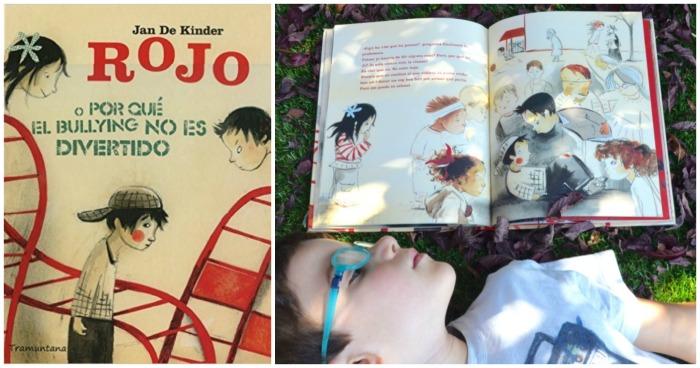 cuentos infantiles rojo bullying para hacer pensar, reflexionar, sentido ética moral niños