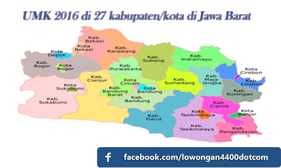 Daftar Terbaru UMK Jawa Barat 2017
