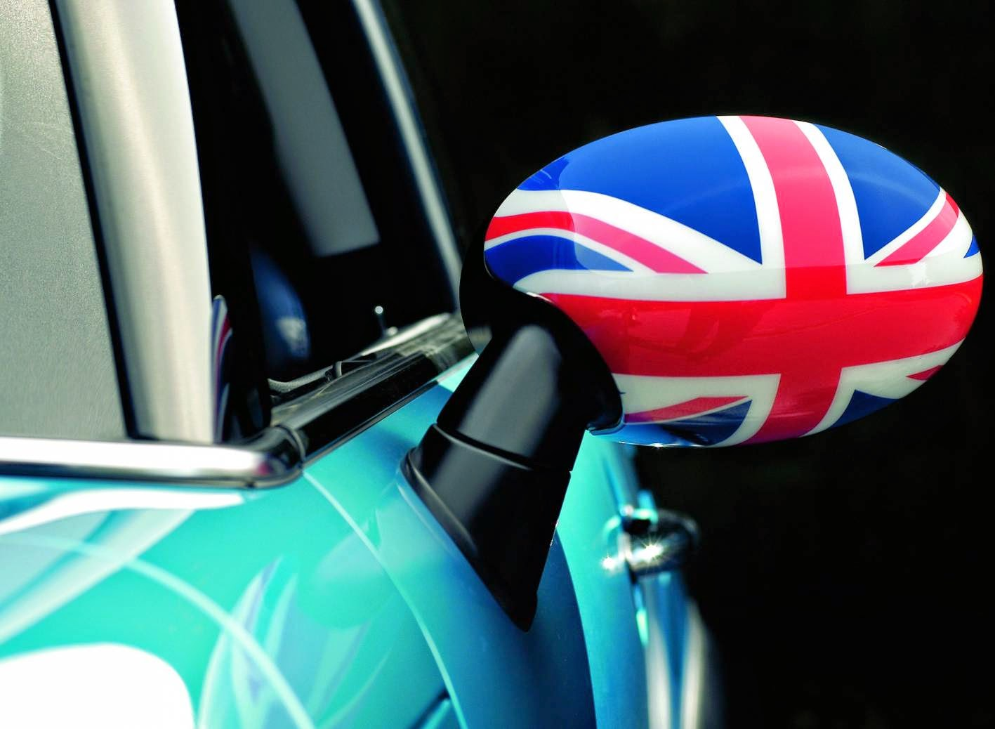 Minis have always been customisable with graphics or patriotic flags