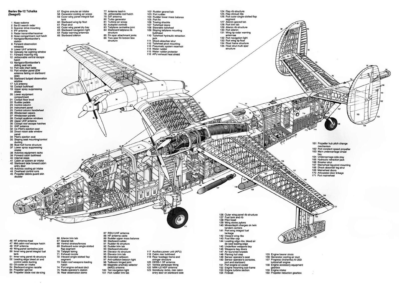 Aerosngcanela Hidroaviao Beriev Be 12