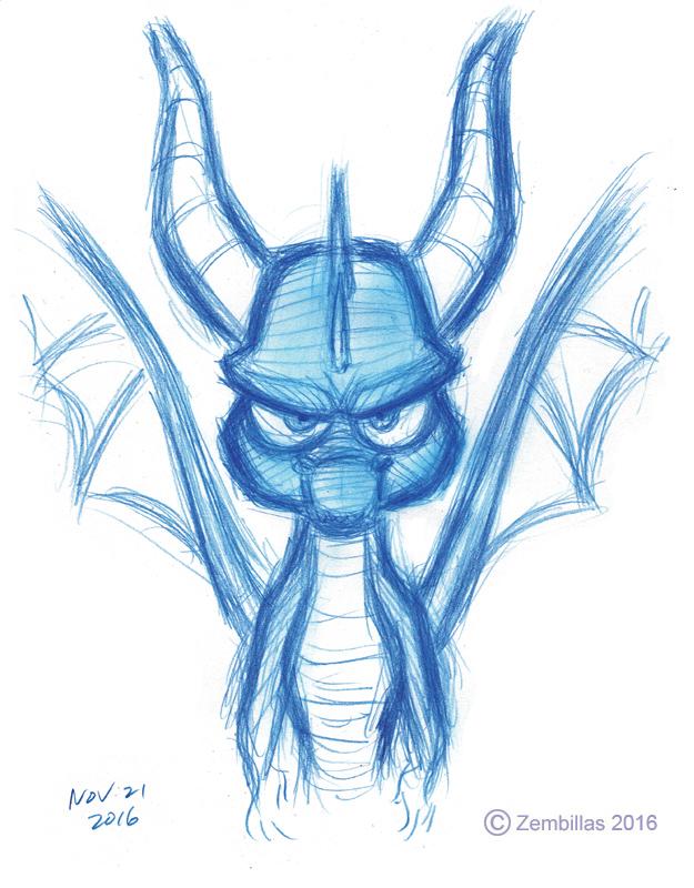 Spyro drawing