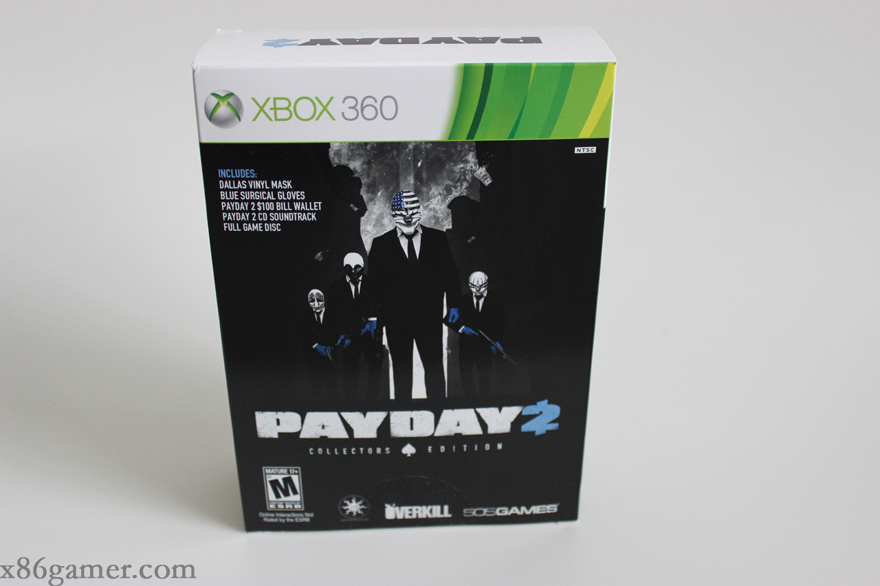 Review Payday 2 Collector S Edition X86 Gamer