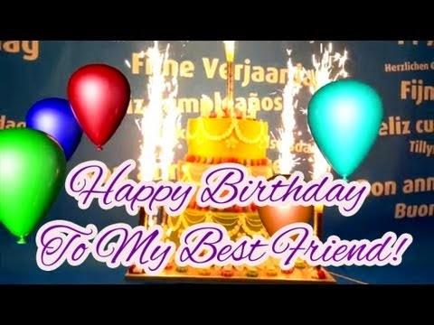 Birthday Wishes Best Friend