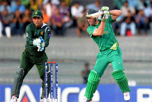 5th match of ICC Champions Trophy 2013 is between Pakistan and South Africa.