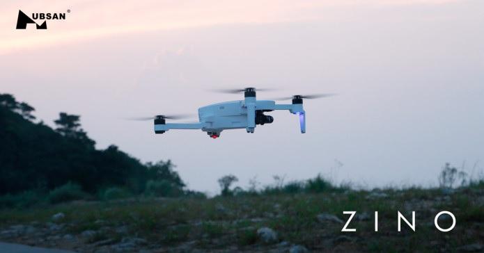 HUBSAN ZINO è quasi pronto, in volo il prototipo del drone