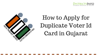 Duplicate Voter Card in Gujarat State